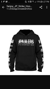 New Jake Paul status hoodie size adult small