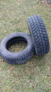 Two Hanook Winter Tires, 205/65r15
