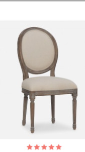 (Set of 4 )Louis dining chairs for sale