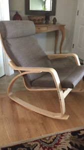 New, assembled IKEA rocking chair