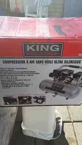 compresseur king neuf ultra silencieux 2hp