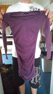 Purple sweater dress MODA sz-small