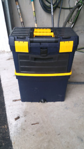 Vertical rolling toolbox