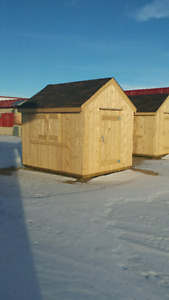 CRAFTSMAN STYLE NEWLY BUILT SHEDS