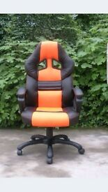 !!!!!!!LAST CHANCE GAMING STYLE SWIVEL CHAIRS !!!!