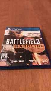 Battlefield hardline playstation 4 neuf
