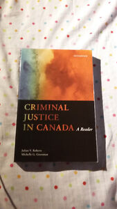 Criminal Justice in Canada: A Reader by J. Roberts, M. Grossman