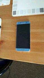 Brand new S7 Edge in Coral Blue, boxed, unlocked, 32GB