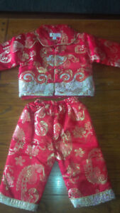Oriental Decorative Baby Suit size 18-24 months