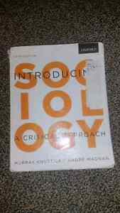 Introduction to sociology; a critical approach