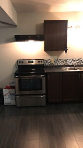 BRAND NEW 1 BED ROOM BASEMENT AVAILABLE FOR RENT!!!!