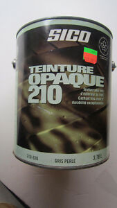 Teinture opaque latex gris perle $10 pour plus de 5 gals