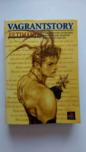 Vagrant Story Ultimania guide book [Japanese]