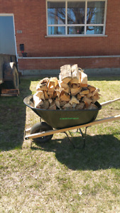 seasoned firewood.