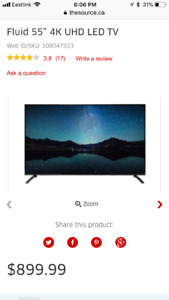 """Awesome 55"""" fluid TV"""