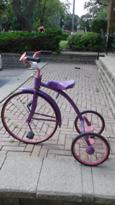TRICYCLE MADE BY SUNRISE WATERLOO IN THE 50'S