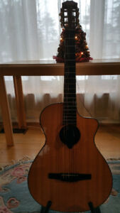Taylor NS42-ce nylon string acoustic/electric hybrid guitar