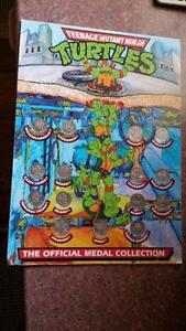Teenage Mutant Ninja Turtles Medal collection. Coorparoo Brisbane South East Preview