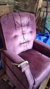 Lift reclining chair open to offers
