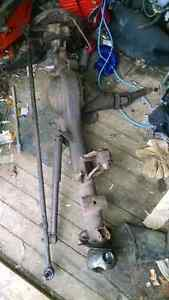 Toyota solid front axle,    90's 4x4 transmission