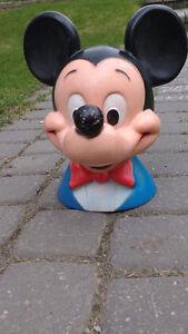 Vintage Mickey Mouse Head Bank