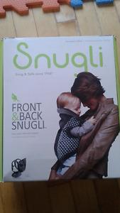 porte bébé Snugli neuf, jamais utilisé
