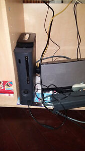 jtag Xbox 360 with 4 games