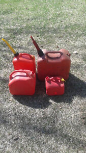 4 jerry cans Kingston Kingston Area image 1