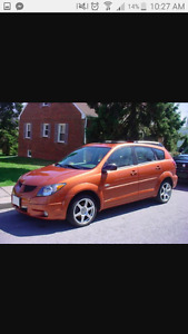 2005 Pontiac Vibe Familiale