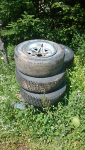 Tires and Wheels, 205/55/16, 235/65/17, GM rally