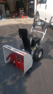 POWERFUL 205CC LIKE NEW SNOWBLOWER CADILLAC  OF SNOW BLOWERS