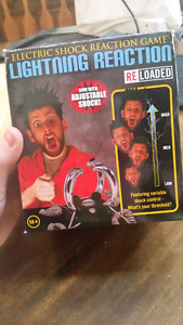 Electric Shock Reaction Game