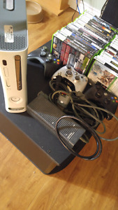 360 60gb classic with 30+ games