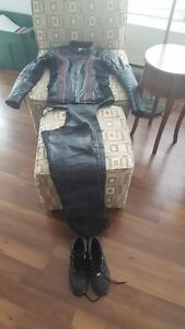 Ladies Harley Davidson Leather Jacket, Chaps, Boots
