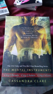 The Mortal Instruments book set - City of Bones, Ashes and Glass