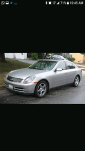 2004 infinity G35 for parts