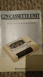 C2N Cassette Unit operating instructions. VINTAGE 1982