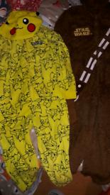 For Sale Bundle of Boys Onesies/Pyjamas in Age 9-10 Years