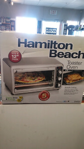(sold) Hamilton Beach Toaster Oven-Model 31412C