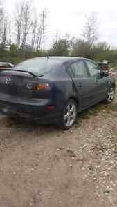 06 mazda 3 Sport part out