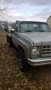 1980 chev 4x4 trailering special
