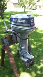 30HP Evinrude Outboard Motor