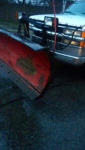 Chevy 3500 DUALLY PLOW TRUCK WITH DUMP BOX