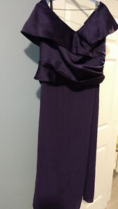 Alfred Angelo Eggplant Bridesmaid Dress Size 18-20