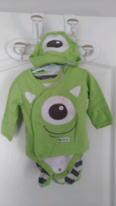 Baby clothes: 3 months old Monsters, Inc. Set