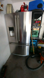 Stainless steel frige