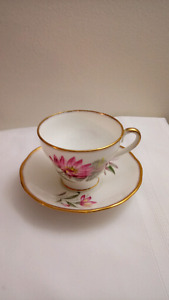 English Salisbury Teacup and Saucer