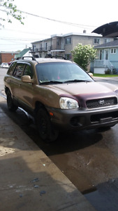 Santa Fe 2004 NEGOTIABLE!