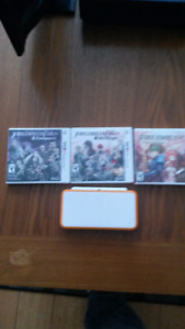 Selling a Nintendo 2DS + 3 games.  150 total