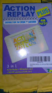 Sega Saturn Action Replay, Saturn/Dreamcast Games/Accessories